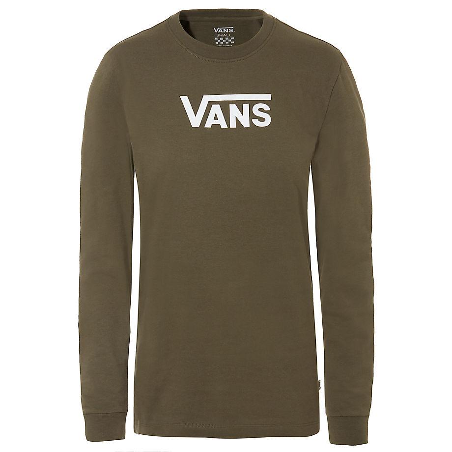 T-shirt Raglan À Manches Longues Flying V Classic (grape Leaf) , Taille L - Vans - Modalova