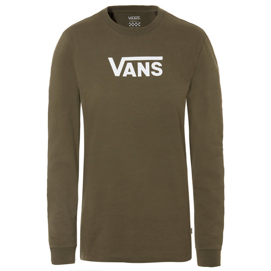 Flying V Classic Long Sleeve Raglan T-shirt | Vans