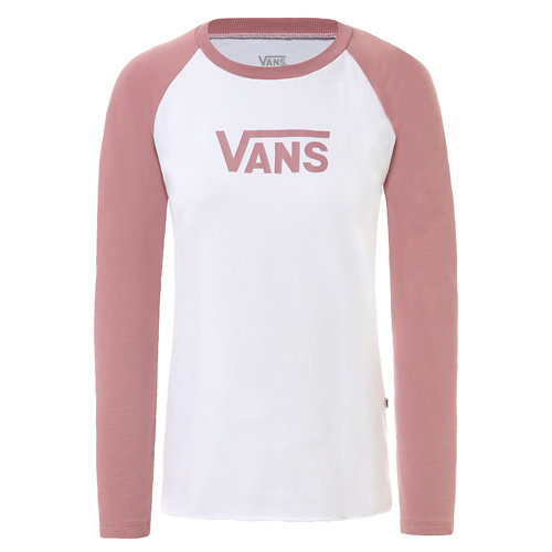 T-shirt+raglan+%C3%A0+manches+longues+Flying+V+Classic
