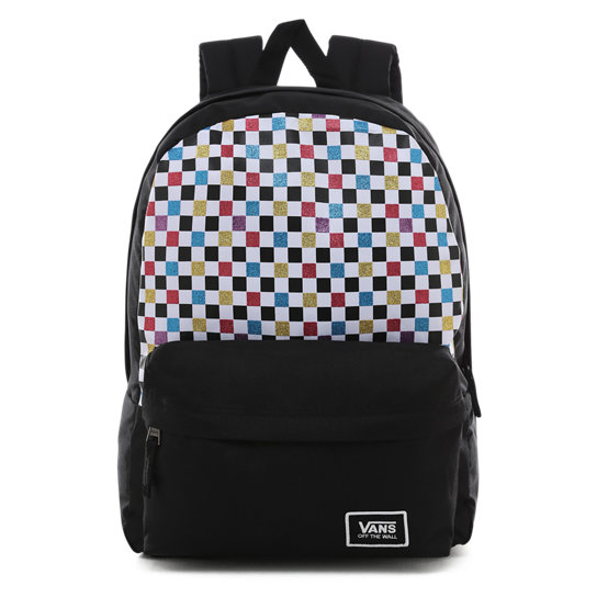 Glitter Check Realm Backpack | Vans