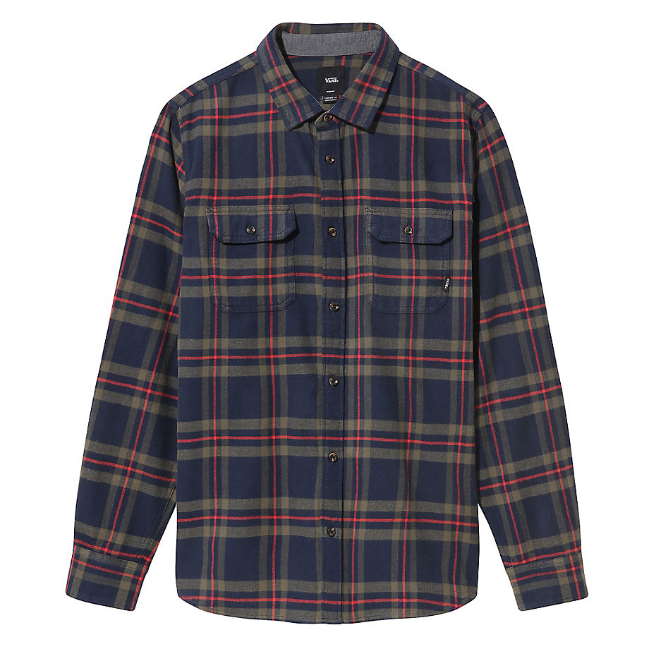 VANS Chemise Westminster (dress Blues) Homme Bleu, Taille S