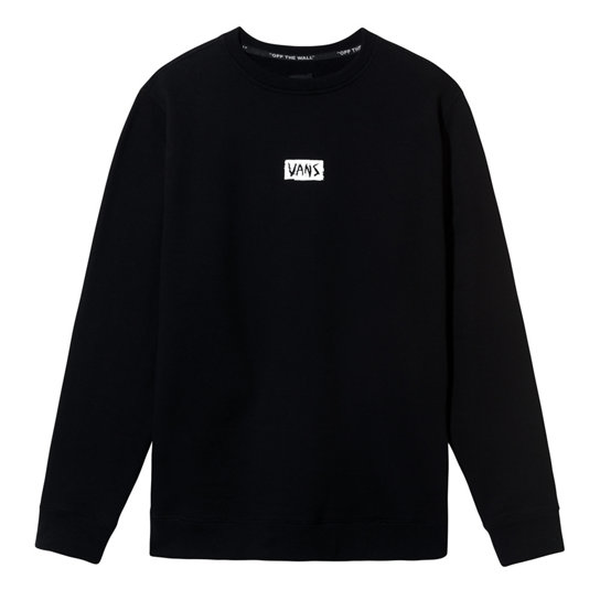 Scratched Crew Pullover