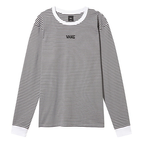 Vans+Micro+Stripe+Long+Sleeve+T-shirt