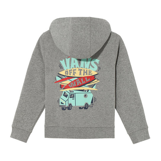 Little Kids Boarded Up Hoodie (2-8 years) | Vans