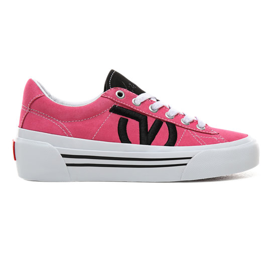 vans chaussure rose