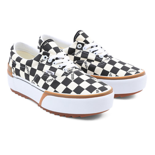 Checkerboard Era Stacked Shoes | Vans