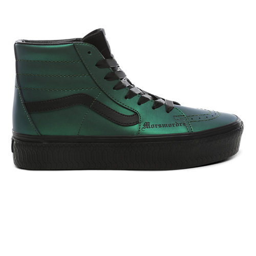 Zapatillas+con+plataforma+Dark+Arts+Sk8-Hi+de+Vans+x+HARRY+POTTER%E2%84%A2