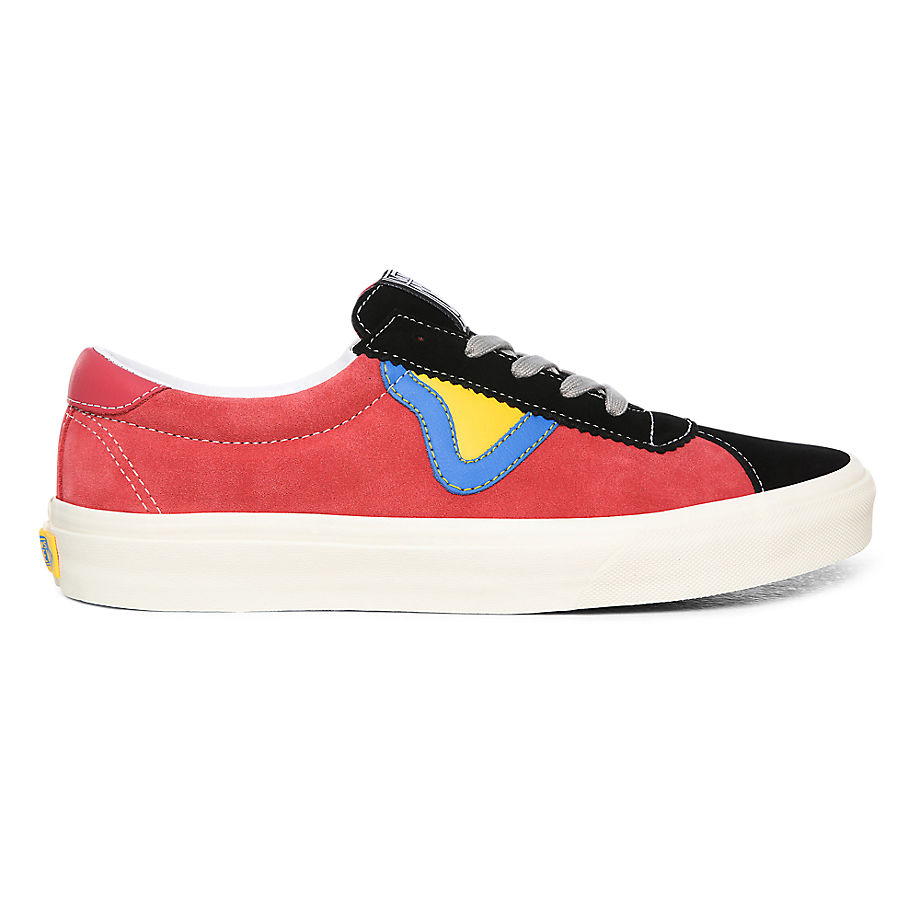Chaussures Energy Suede Sport ((energy Suede) Holly Berry/black) , Taille 36 - Vans - Modalova