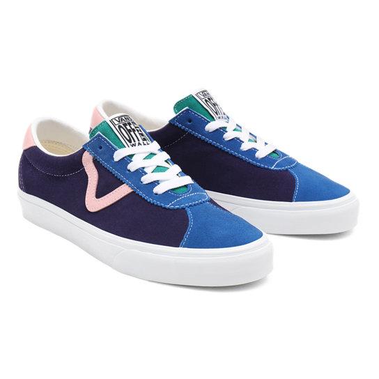 Zapatillas Retro Court Vans Sport | Azul | Vans