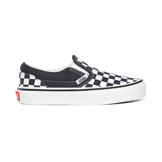 Checkerboard Classic Slip-On Kinderschoenen (4-8 jaar) | Vans