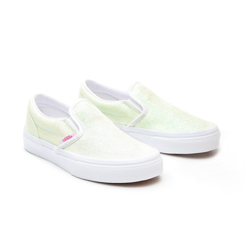 Kids+UV+Glitter+Classic+Slip-On+Shoes+%284-8+years%29