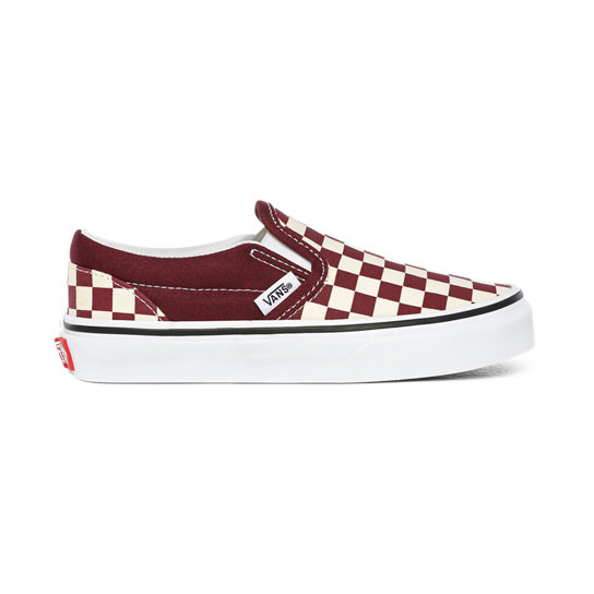 Chaussures Junior Checkerboard Classic Slip-On (4-8 ans) | Vans