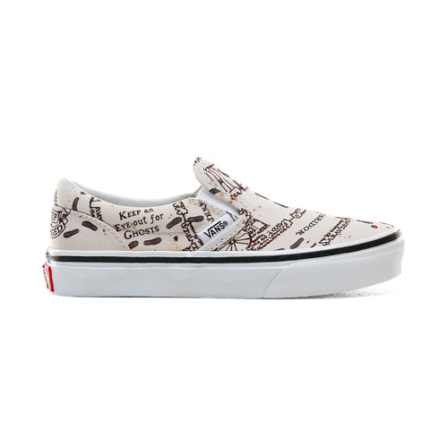 Chaussures+Junior+Vans+x+HARRY+POTTER%E2%84%A2+Carte+du+maraudeur+Slip-On+%284-8+Ans%29