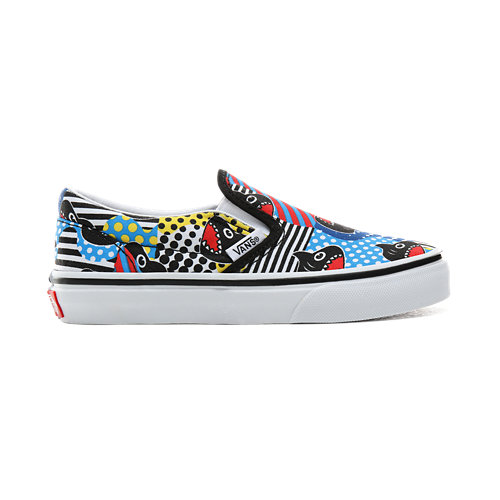 Chaussures+Junior+Vans+x+Shark+Week+Classic+Slip-On+%285%2B%C2%A0ans%29