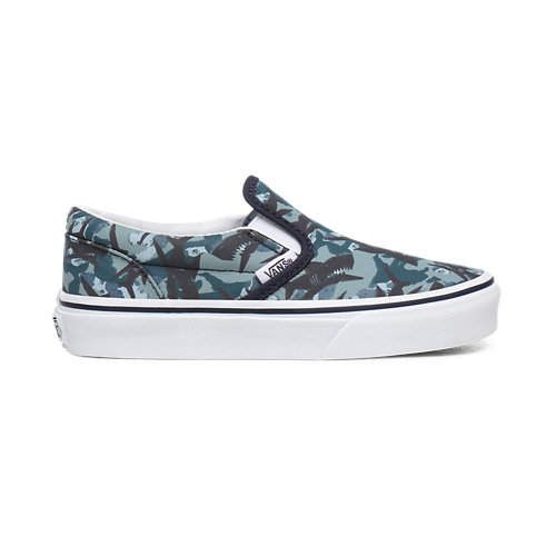 Kids+Animal+Camo+Classic+Slip-On+Shoes+%284-8+years%29