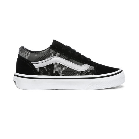 Kids Pattern Camo Old Skool Shoes (4-8 years) | Vans