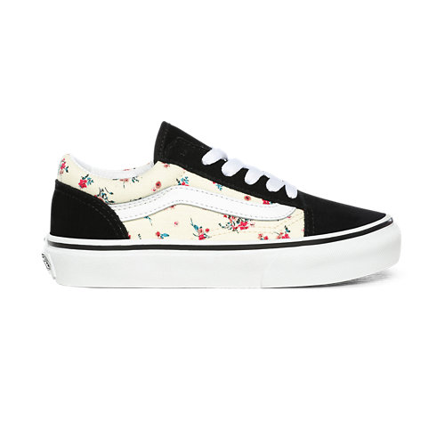 Chaussures+Junior+Ditsy+Floral+Old+Skool+%284-8+ans%29