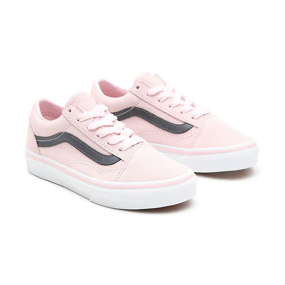 Chaussures En Daim Old Skool Enfant (4-8 Ans) ((suede) Blushing Bride/asphalt) Enfant , Taille 31.5 - Vans - Modalova