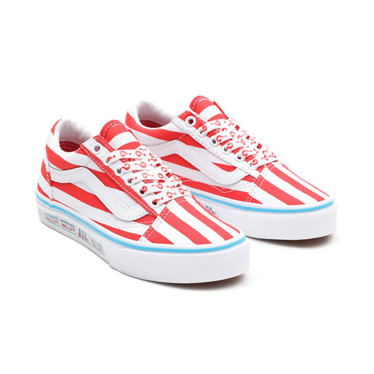 Vans x Waar is Wally? Old Skool Kinderschoenen (4-8 jaar) | Vans