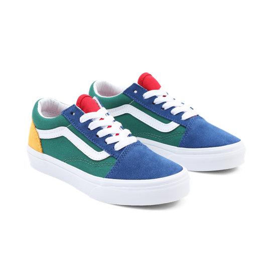 vans blu bambino scarpe