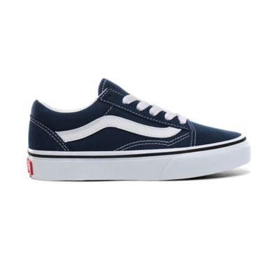 Chaussures Junior Old Skool (4-8 Ans)   Navy   Vans