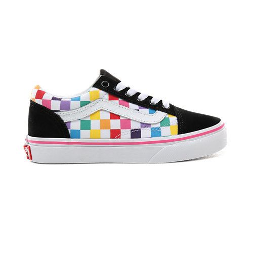 Zapatillas+de+ni%C3%B1os+Checkerboard+Old+Skool+%285%2B+a%C3%B1os%29