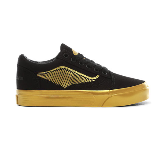 Kids Vans x HARRY POTTER™ Golden Snitch Old Skool Shoes (4-8 years) | Vans