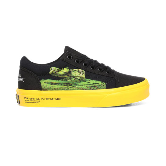 Chaussures Vans x National Geographic Old Skool Enfant (4-8 ans) | Vans