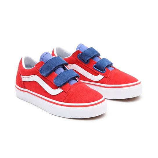 Kids Color Block Old Skool V Shoes (4-8 years)