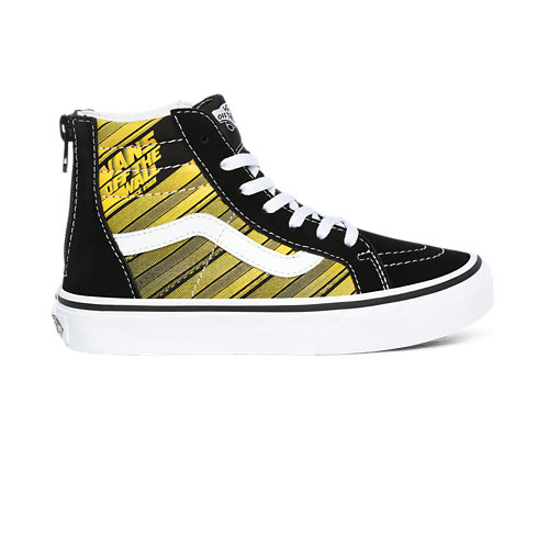 Kids+Racers+Edge+Sk8-Hi+Zip+Shoes+%284-8+years%29