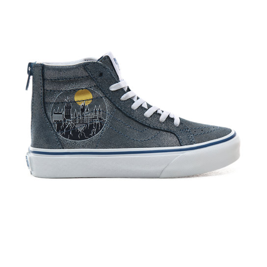 Kids Vans x HARRY POTTER™ Hogwarts Sk8-Hi Zip Shoes (4-8 years) | Vans
