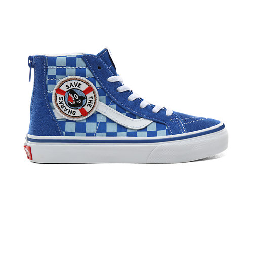 Chaussures+Junior+Vans+x+Shark+Week+Sk8-Hi+Zip+%285%2B%C2%A0ans%29