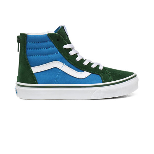 Kids+2-Tone+Sk8-Hi+Zip+Shoes+%284-8+years%29