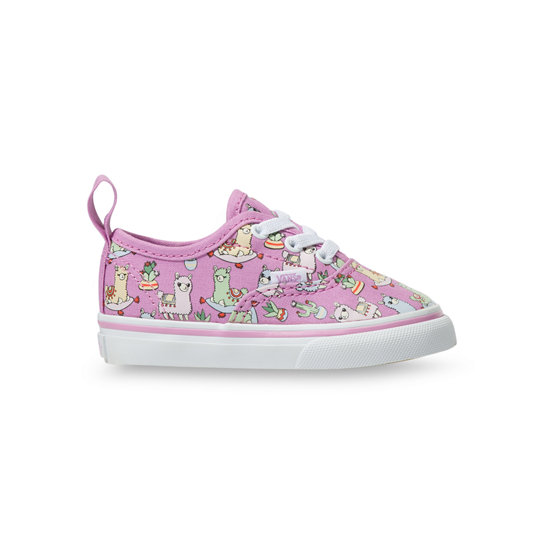 Toddler Llamas Authentic Elastic Lace Shoes (1-4 years) | Vans