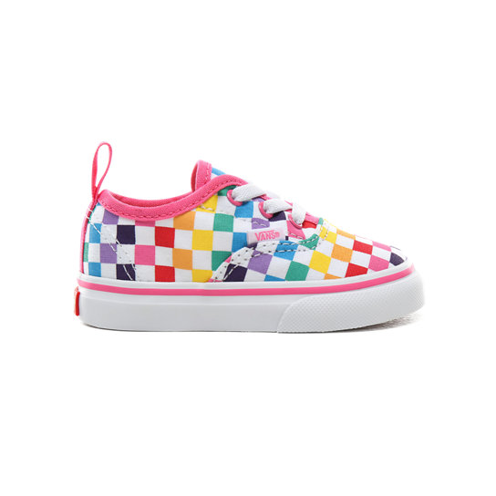 Toddler Checkerboard Authentic Elastic Lace Shoes (1-4 years) | Vans