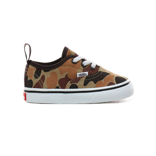 Toddler Vintage Camo Authentic Elastic Lace Shoes (1-4 years) | Vans