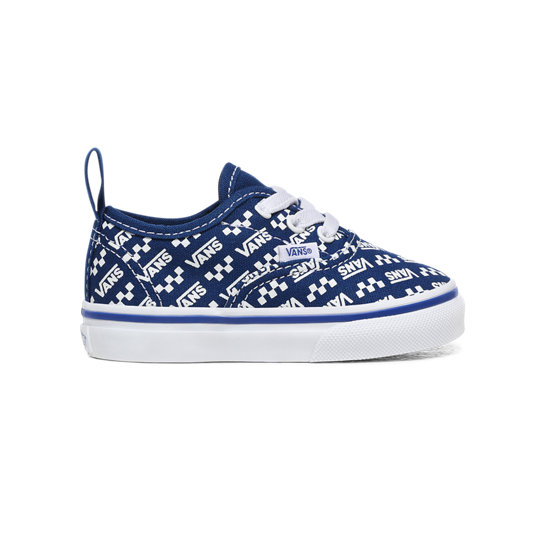 Toddler Logo Repeat Elastic Laces Authentic Shoes (1-4 years) | Vans