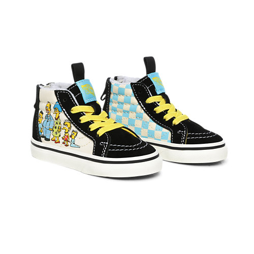 Toddler+The+Simpsons+x+Vans+1987-2020+Sk8-Hi+Zip+Shoes+%281-4+years%29