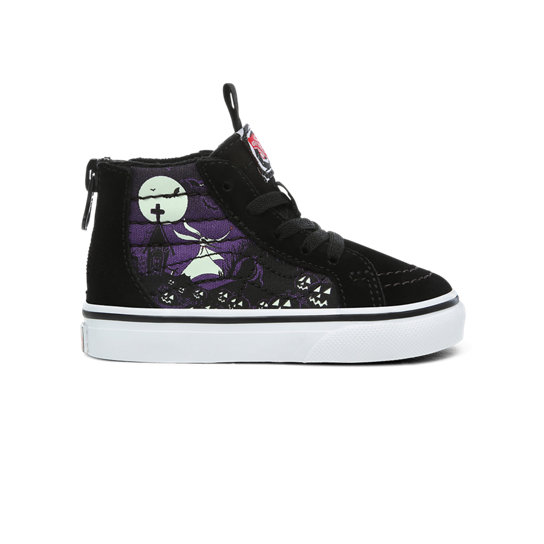 Toddler Disney x Vans Sk8 Hi Zip Shoes (1 4 years)