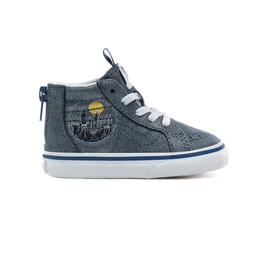 Toddler Vans x HARRY POTTER™ Hogwarts Sk8-Hi Zip Shoes (1-4 years) | Vans