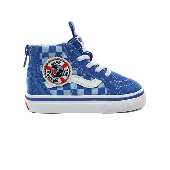 Toddler Vans x Shark Week Sk8-Hi Zip Shoes (1-4 years) | Vans