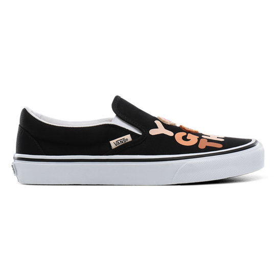 Breast Cancer Awareness Classic Slip-On Shoes | Vans