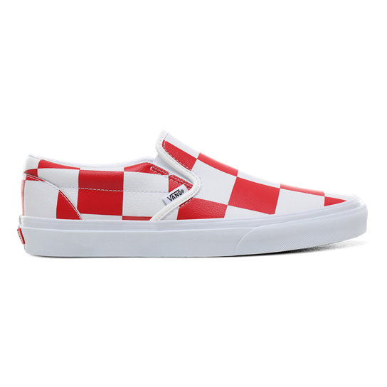 Chaussures Cuir Check Classic Slip-On