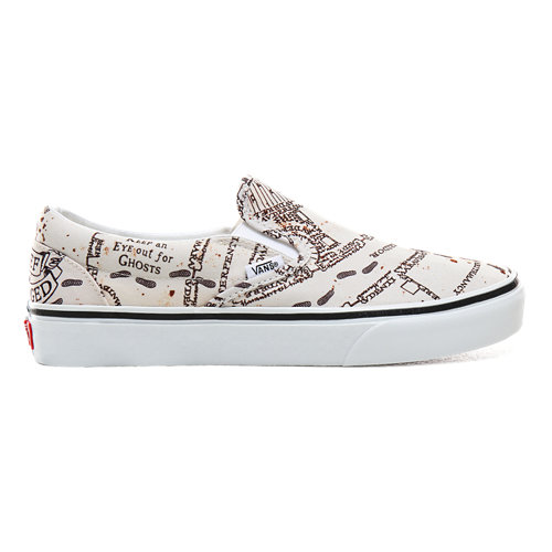 Vans+x+HARRY+POTTER%E2%84%A2+Marauders+Map+Slip-On+Shoes