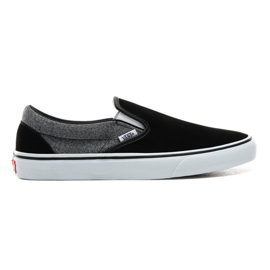 Suede Classic Slip On Shoes by Vans