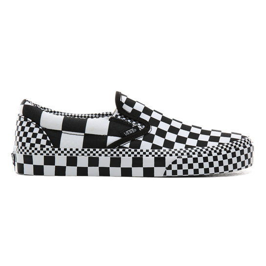 All Over Checkerboard Classic Slip-On Shoes | Vans