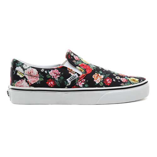 Garden+Floral+Classic+Slip-On+Shoes