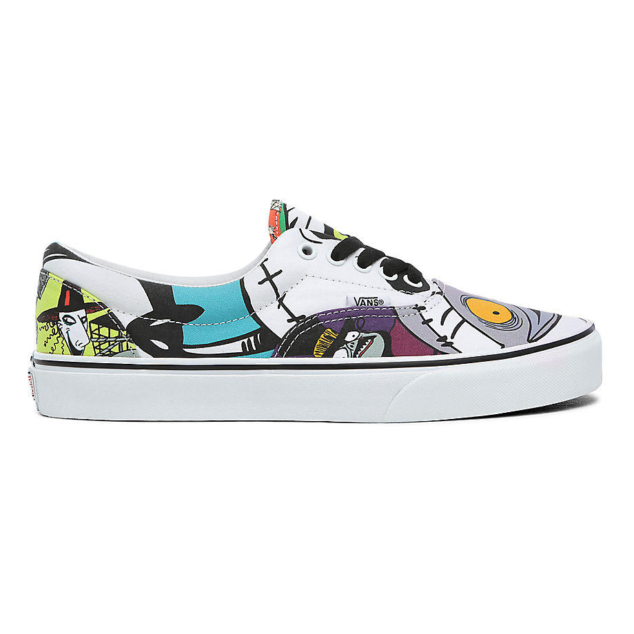 VANS Chaussures Disney X Vans Era ((disney) Halloweentown/nightmare) Femme Multicolour, Taille 34.5