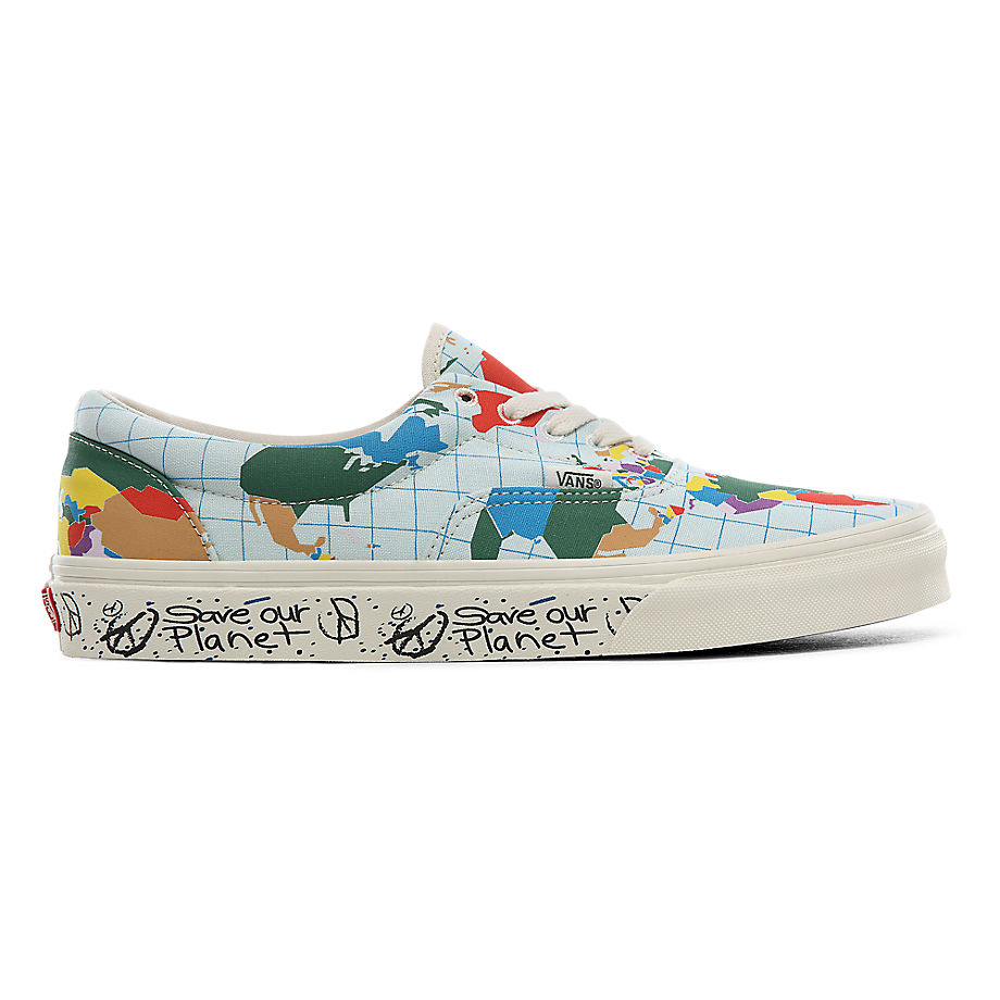 VANS Chaussures Save Our Planet X Vans Era ((save Our Planet) Classic White/multi) Femme Multicolour