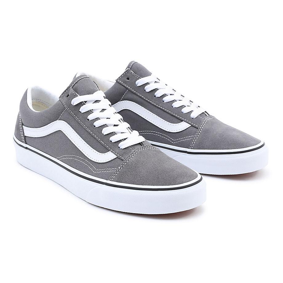 Chaussures Old Skool (pewter/true White) , Taille 34.5 - Vans - Modalova